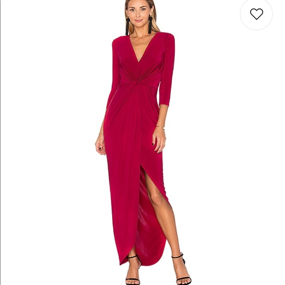 Lovers + Friends Dresses & Skirts - Lovers + Friends Sundance Maxi Dress XS Raspberry